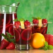 Refreshing Sangria — Stock Photo #6075307