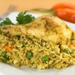 PeruviDish Called Arroz con Pollo — Stock Photo #6094136