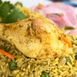 PeruviDish Called Arroz con Pollo — Stock Photo #6094153
