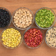 Royalty-Free Stock Photo: A Variety of Legumes
