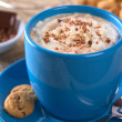 Hot Chocolate with Whipped Cream — Stock Photo #6201057