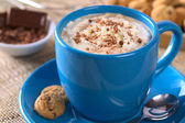 Hot Chocolate with Whipped Cream — Stock Photo