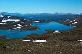 Storelvvatnan Lake Close to Sulitjelma, Norway — Stock Photo