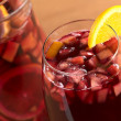 Refreshing Sangria — Stock Photo