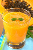 Papaya Juice — Stock Photo