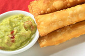 Latin-American Appetizers Called Tequenos — Stock Photo