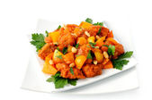 Pork in Batter Sweet and sour sauce — Stock Photo