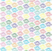 Vector baby background — Stock Vector