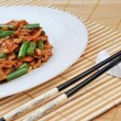 Chinese food on plate close up — Stock Photo #5547051
