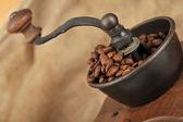 Ручная дробилка кофе — Стоковое фото