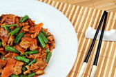 Huhn mit Gemüse — Stockfoto