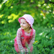Playful little girl — Stock Photo #5744510