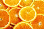Background made of juicy oranges — Stock Photo