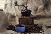 Manual coffee grinder — ストック写真