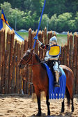 Knights tournament — Stock Photo