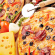 Pizzwith cheese — Stock Photo #6556322