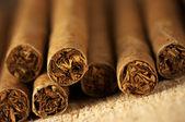 堆的雪茄 — 图库照片