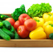 Assorted vegetables — Stock Photo