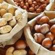 Assorted nuts — Stock Photo