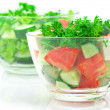 Assorted salads — Stock Photo #5601357