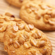 Cookies with nuts - Stock Photo