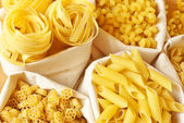 Assorted pasta — Stock Photo