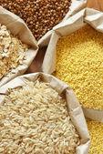 Různé obiloviny — Stock fotografie