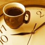 Kaffee-Zeit — Stockfoto