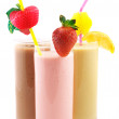 Stock Photo: Various protein cocktails