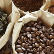 Assorted coffee and tea - Stock Photo