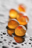 Grains of roe close-up — Stock Photo