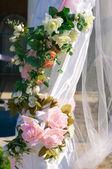 Wedding decoretion — Stock Photo