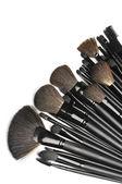 Conjunto de pinceles de maquillaje — Foto de Stock