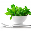 Mint in bowl — Photo
