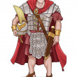 Roman Soldier - Stock Vector