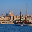 View over Valletta, the capital of Malta — Stock Photo