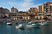 Spinola bay, St Julian's, Malta — Stock Photo