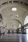 Hall railway station — Stock Photo
