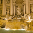 Trevi Fountain , Rome — Stock Photo