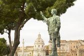 Caesar Augustus, Forum in Rome — Stock Photo