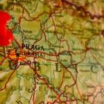 Map of Prague, Czech Republic — Stock Photo #5999209