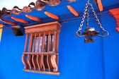 Détail d'une maison coloniale — Photo