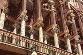 Facade of Palau de la Música in Barcelona — Stock Photo