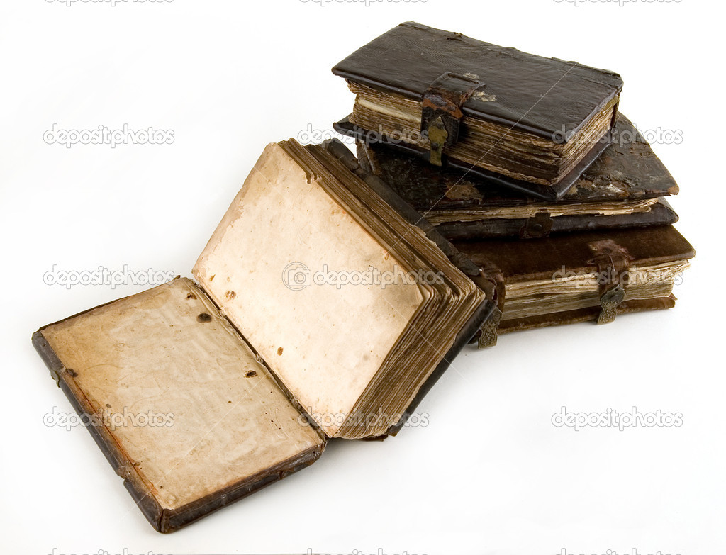 The ancient book on a light background — Stock Photo #5579424