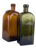 稀有玻璃奶瓶 — 图库照片