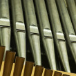 Traditional organ pipes — Stockfoto