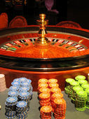 轮盘赌 — 图库照片