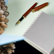 The writing subjects — Stock Photo