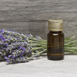 Lavender oil. — Stock Photo