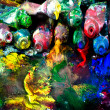 Stock Photo: Messy paint